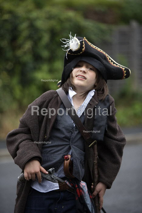 Boy dressed up as a pirate. - John Harris - 2011-07-29