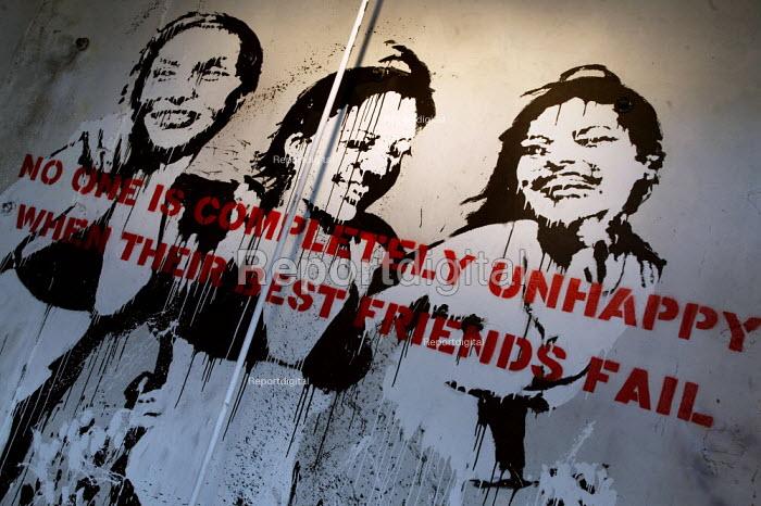Banksy Exhibition, Dalston, East London. - Jess Hurd - 2003-07-18