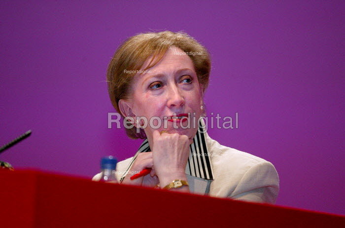 Margaret Beckett MP Labour Party Conference 2003. - Jess Hurd - 2003-09-28