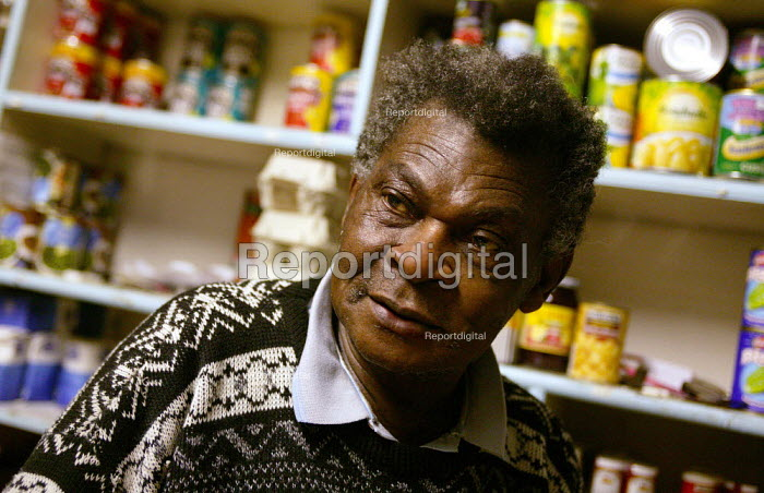 Addi a corner shop keeper and resident in lower Broughton. Formerly from Nigeria Addi came to Salford in the 1970's where he brought up his children. - Jess Hurd - 2004-11-08