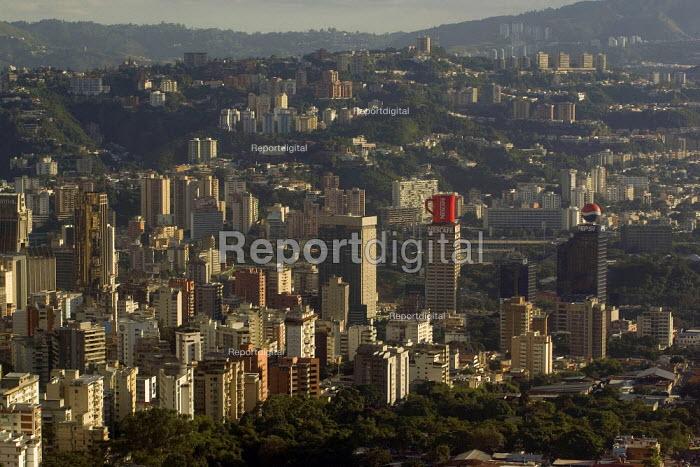 Caracas City, Bolivarian Republic of Venezuela. The Nescafe and Pepsi buildings. - Jess Hurd - 2006-01-19