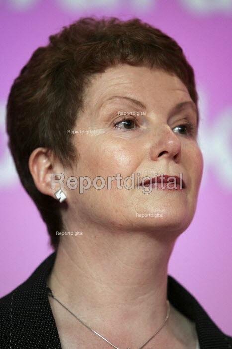 Hazel Blears MP. Labour Party General Election press conference on Crime. London. - Jess Hurd - 2005-04-21
