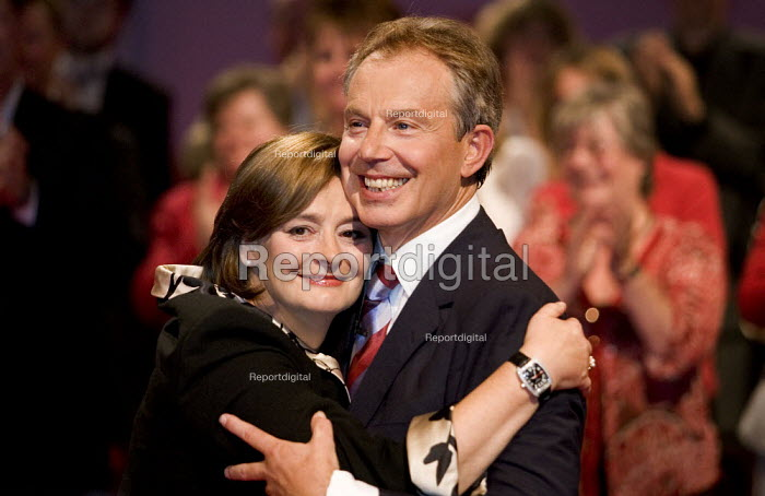 Prime Minister Tony Blair at his last Labour Party Conference as leader. Manchester 2006. - Jess Hurd - 2006-09-26