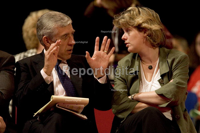 Jack Straw and Ruth Kelly MP Labour Party Conference 2006, Manchester. - Jess Hurd - 2006-09-27