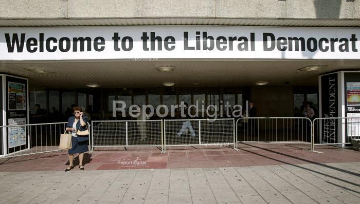 Liberal Democrat Conference 2006, Brighton. - Jess Hurd - 2006-09-18
