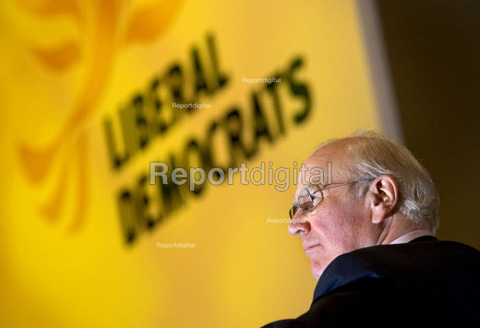 Sir Menzes Campbell. Liberal Democrat Conference 2006, Brighton. - Jess Hurd - 2006-09-18
