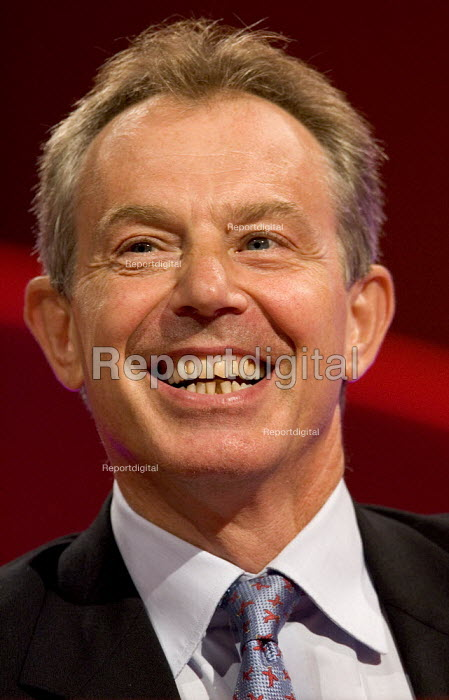 Tony Blair PM, Labour Party Conference 2006, Manchester. - Jess Hurd - 2006-09-24