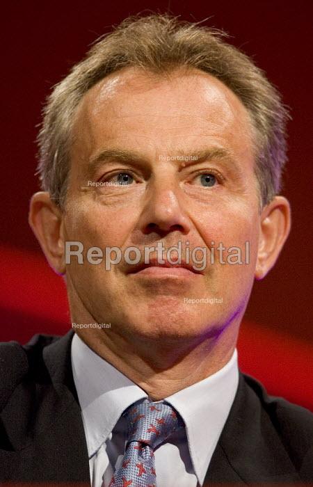 Tony Blair PM, Labour Party Conference 2006, Manchester. - Jess Hurd - 2006-09-24