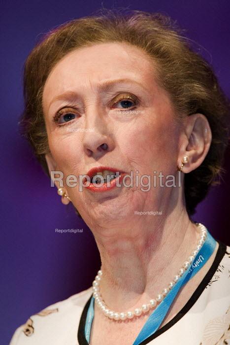 Margaret Beckett MP, Foreign Secretary. TUC Congress 2006, Brighton. - Jess Hurd - 2006-09-13