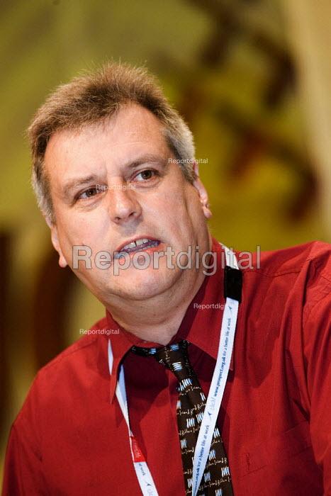 Graeme Henderson, Prospect. TUC Congress 2006, Brighton. - Jess Hurd - 2006-09-14