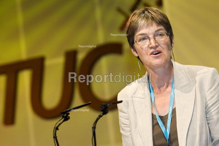 Alison Shepherd, Unison. TUC Congress 2006, Brighton. - Jess Hurd - 2006-09-14