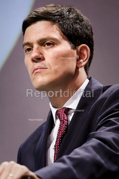 David Miliband MP addresses TUC Congress 2006, Brighton. - Jess Hurd - 2006-09-12
