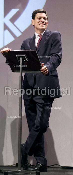 David Miliband MP addresses TUC Congress 2006, Brighton. - Jess Hurd - 2006-09-12