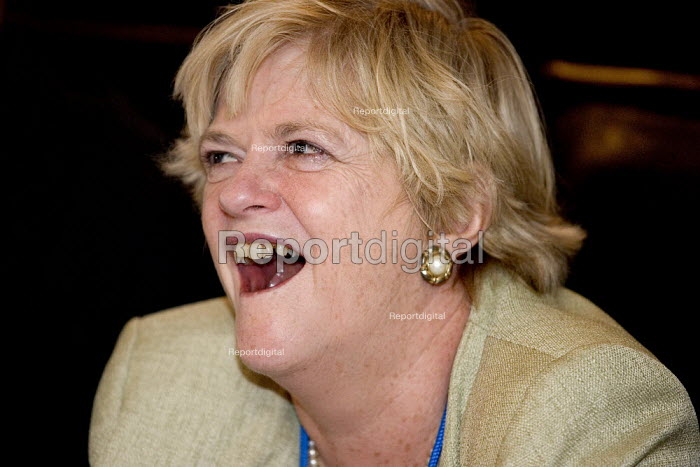 Ann Widdecombe MP speaks at a Right to Life fringe meeting. Conservative Party Conference 2006 - Jess Hurd - 2006-10-03