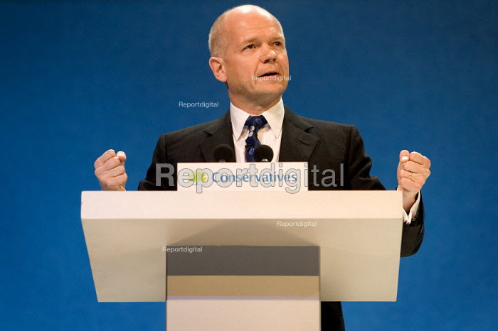 William Hague MP addresses Conservative Party Conference 2006 - Jess Hurd - 2006-10-03