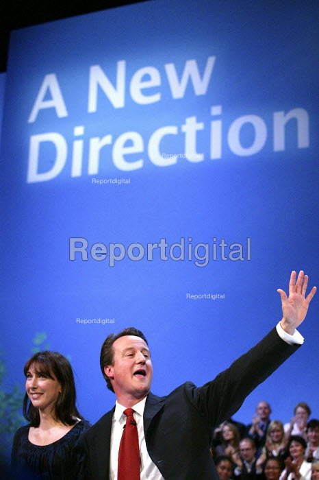 David Cameron party leader addresses Conservative Party Conference 2006 - Jess Hurd - 2006-10-04