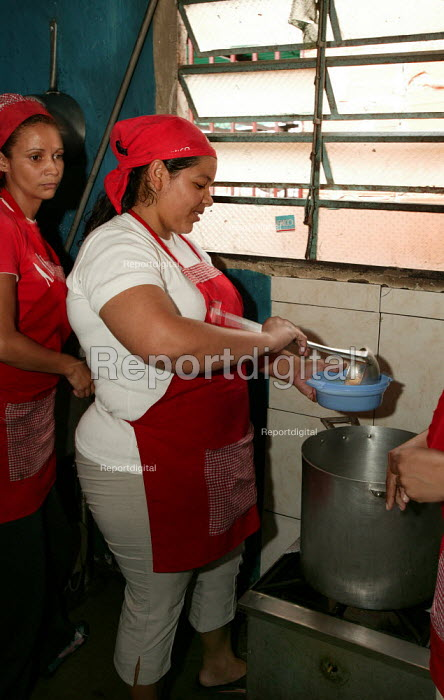 Programa De Alimentos Estrategicos (proal). These Popular Dining Areas provide a meal to the poor and homeless free of charge and are run by the previously unemployed. The Mission project was introduced by the government of President Hugo Chavez. Petare, Bolivarian Republic of Venezuela. - Jess Hurd - 2006-01-27