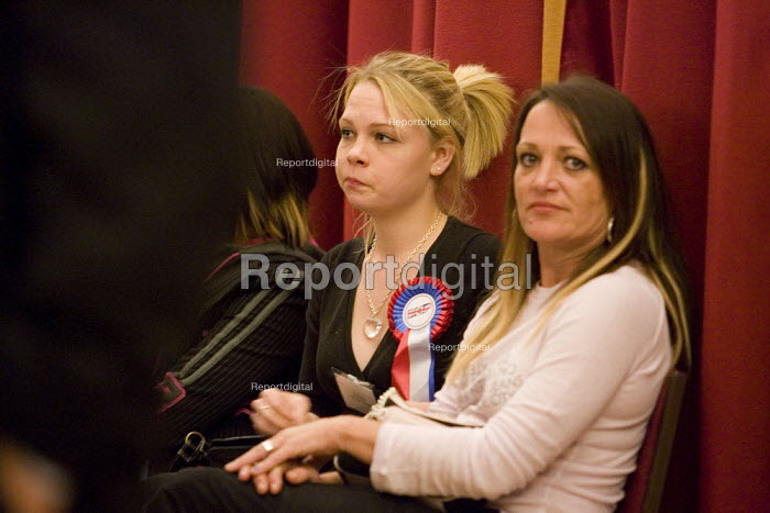 Lauren Kay 19 year old failed BNP candidate for Stanford-Le-Hope West. Local Government council elections, Thurrock. - Jess Hurd - 2007-05-04
