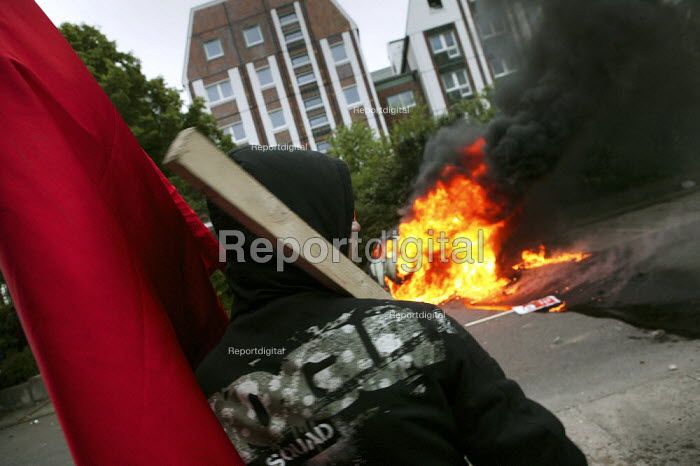 Protests at the G8 summit in Heiligendamm, Rostock, Germany. - Jess Hurd - 2007-06-02