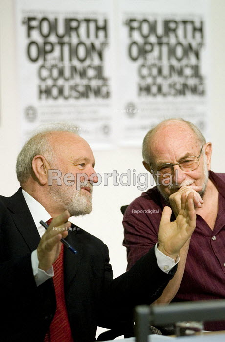 Frank Dobson MP. Defend Council Housing Conference. London. - Jess Hurd - 2007-07-12
