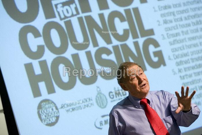 Austin Mitchell MP. Defend Council Housing Conference. London. - Jess Hurd - 2007-07-12