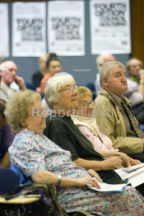Defend Council Housing Conference. London. - Jess Hurd - 2007-07-12