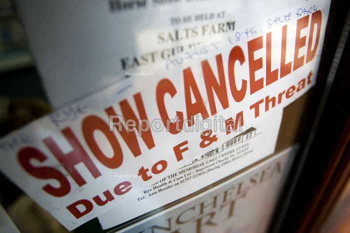 Rye Show Cancelled due to Foot and Mouth disease. Sussex. - Jess Hurd - 2007-08-09
