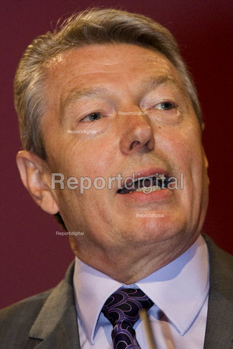 Alan Johnson MP. Labour Party Conference, Bournemouth 2007. - Jess Hurd - 2007-09-25