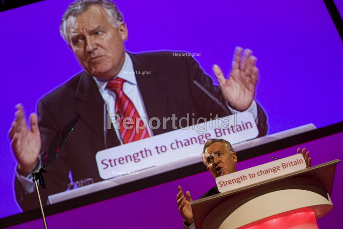 Peter Hain MP. Labour Party Conference, Bournemouth 2007. - Jess Hurd - 2007-09-25