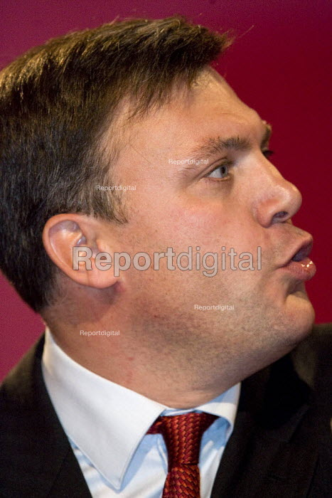 Ed Balls MP. Labour Party Conference, Bournemouth 2007. - Jess Hurd - 2007-09-26