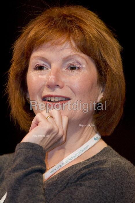 Hazel Blears MP, Labour Party Conference, Bournemouth 2007. - Jess Hurd - 2007-09-27