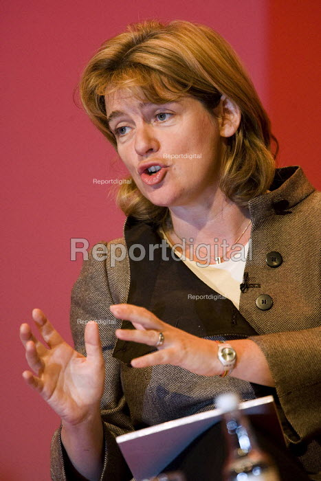 Ruth Kelly MP, Labour Party Conference, Bournemouth 2007. - Jess Hurd - 2007-09-27