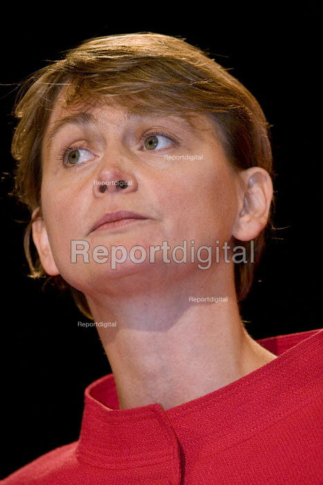 Yvette Cooper MP,Labour Party Conference, Bournemouth 2007. - Jess Hurd - 2007-09-27