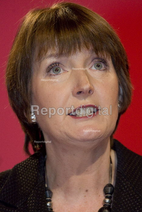 Harriet Harman MP Labour Party Conference, Bournemouth 2007. - Jess Hurd - 2007-09-27