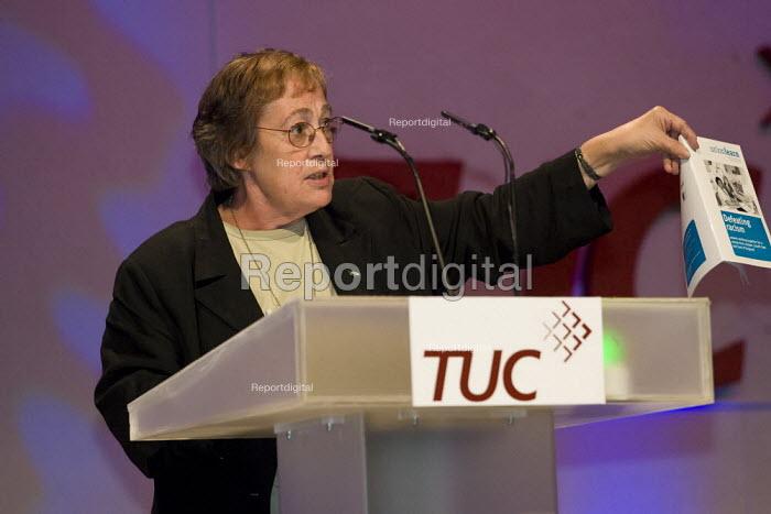 Anita Halpin, TUC Conference, Brighton 2007. - Jess Hurd - 2007-09-13