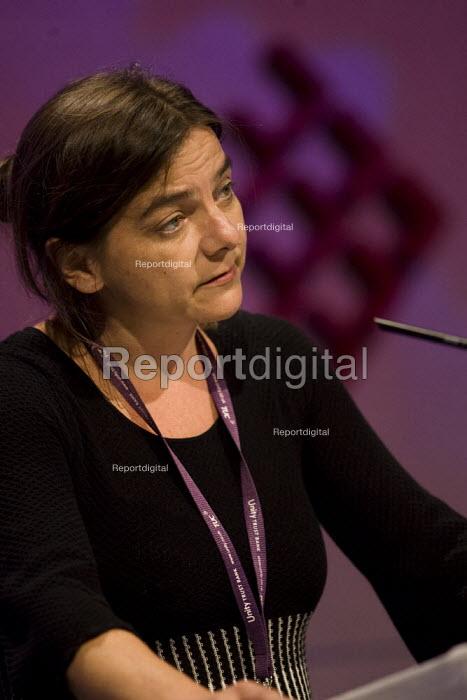 Sally Hunt UCU, TUC Conference, Brighton 2007. - Jess Hurd - 2007-09-13