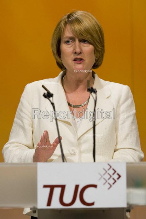 Jacqui Smith MP TUC Conference, Brighton 2007. - Jess Hurd - 2007-09-11