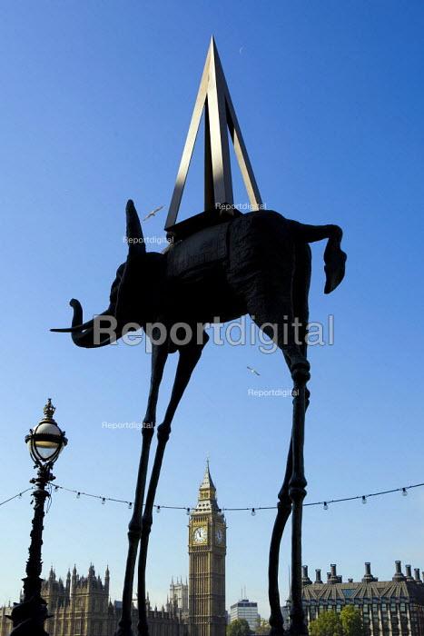 Art by Spanish surrealist Salvador Dali, County Hall Gallery, London. - Jess Hurd - 2007-10-05