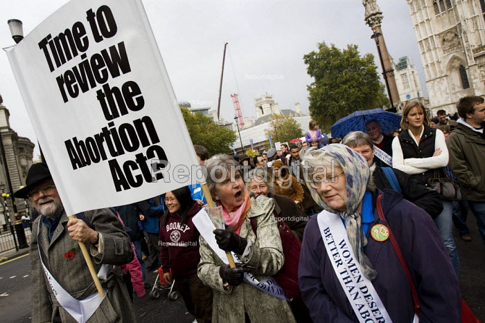 Anti Abortion march, London. - Jess Hurd - 2007-10-27