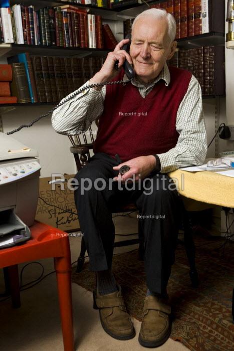 Tony Benn, former Labour MP and Cabinet Minister, London. - Jess Hurd - 2007-11-10