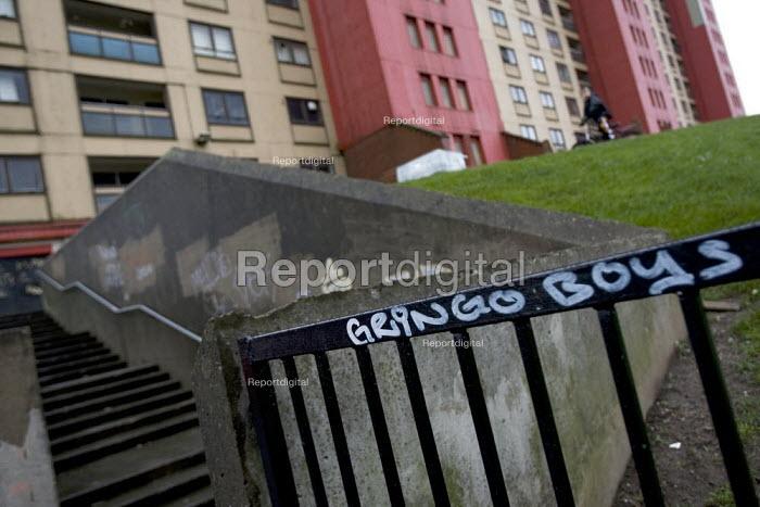 Red Road Flats. Glasgow, Scotland. - Jess Hurd - 2007-12-29