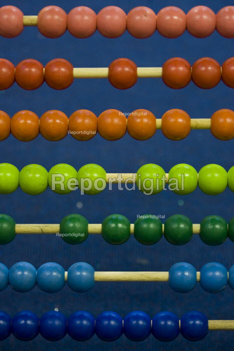 abacus, also called a counting frame, a calculating tool for performing arithmetic processes. - Jess Hurd - 2007-12-10