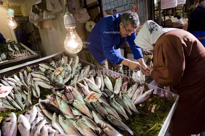 Cupra fish for sale in the fish market. Istanbul, Turkey. - Jess Hurd - 2008-03-10