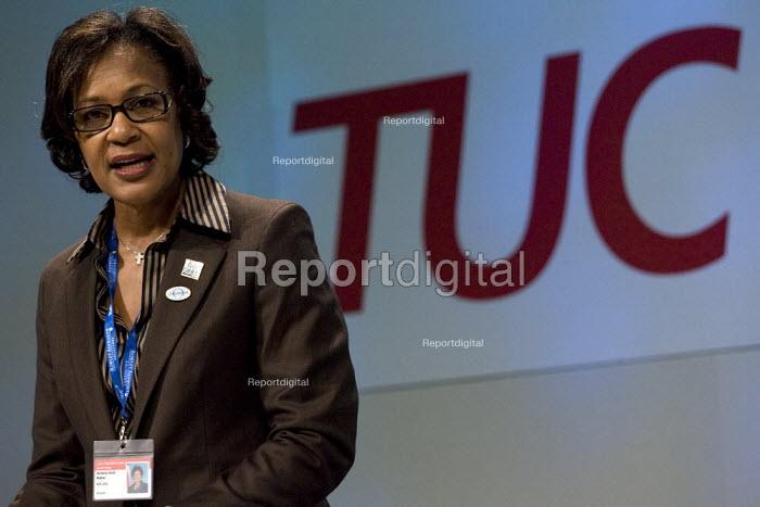 Arlene Holt Baker AFL/CIO. TUC Congress 2008. - Jess Hurd - 2008-09-09