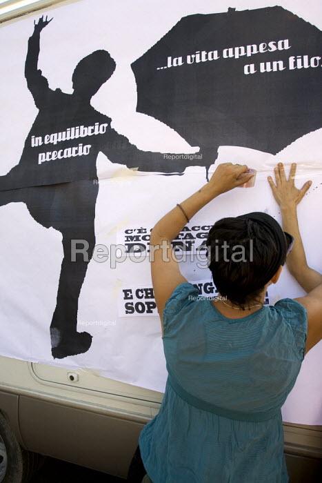 Anti G8 demonstrations Rome. Italy. - Jess Hurd - 2009-07-08