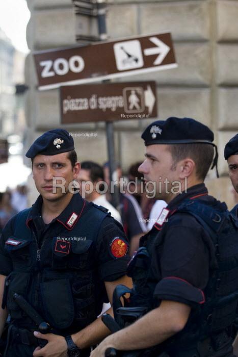 G8 demonstrations Rome. Italy. - Jess Hurd - 2009-07-07