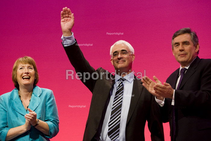 Alistair Darling MP. Labour Party Conference 2009. Brighton. - Jess Hurd - 2009-09-28