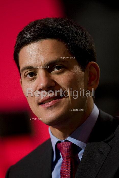 David Miliband MP. Labour Party Conference 2009. Brighton. - Jess Hurd - 2009-09-28