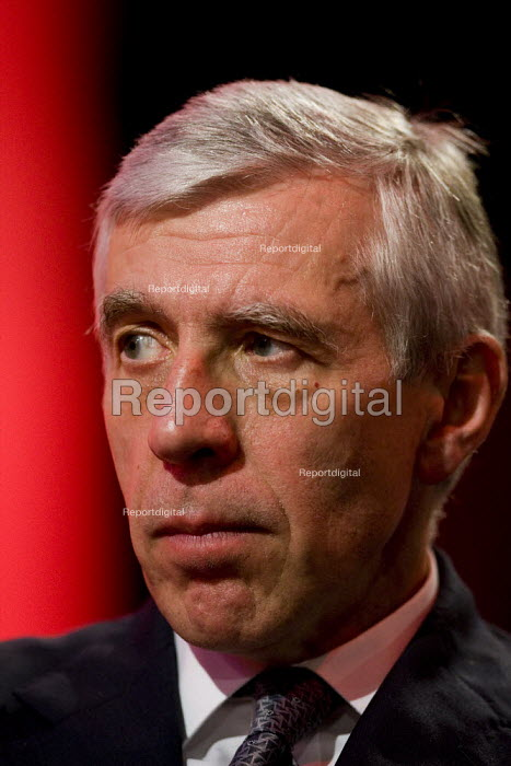 Jack Straw MP. Labour Party Conference 2009. Brighton. - Jess Hurd - 2009-09-29