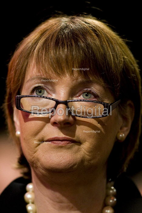 Harriet Harman MP. Labour Party Conference 2009. Brighton. - Jess Hurd - 2009-09-29